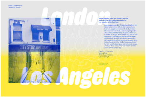 Thumbnail image for Parallel Urbanisms: Los Angeles in Whitechapel